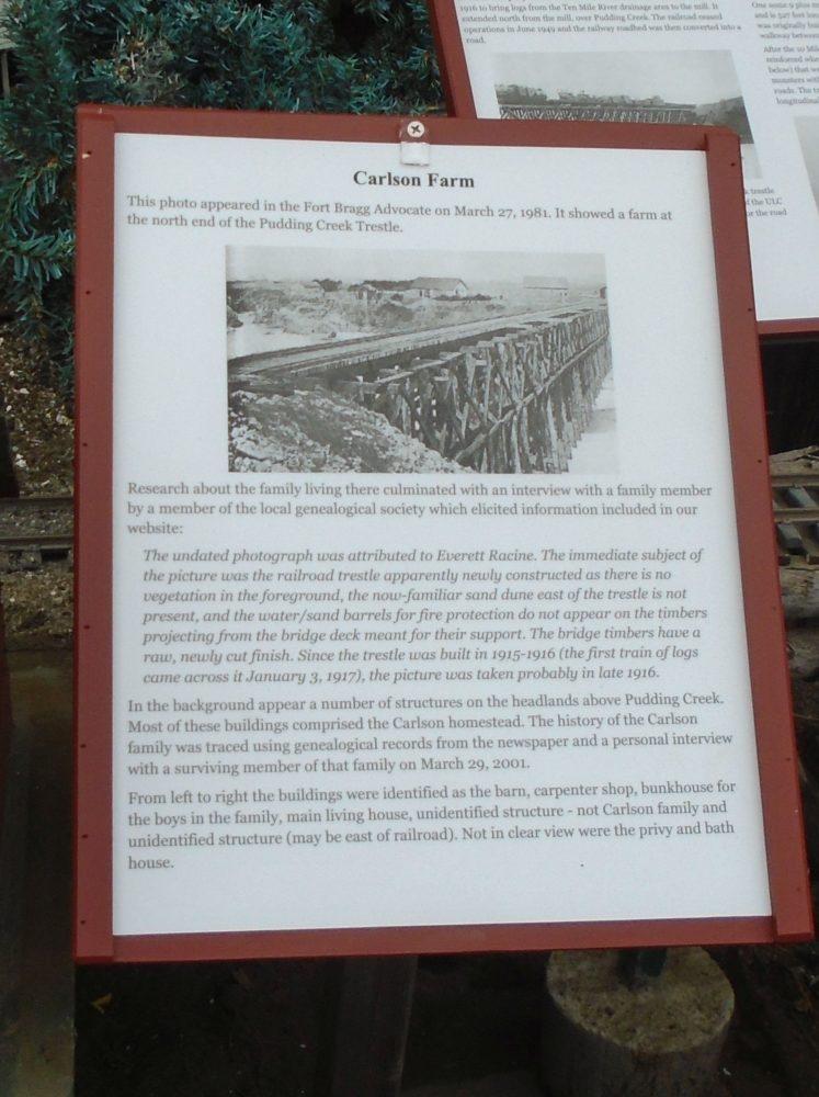 Carlson Farm Sign