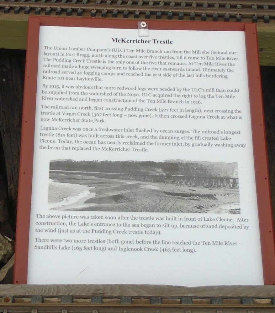 McKerricher Trestle Sign